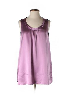 Check it out - Eileen Fisher Sleeveless Silk Top for $44.49 on thredUP!