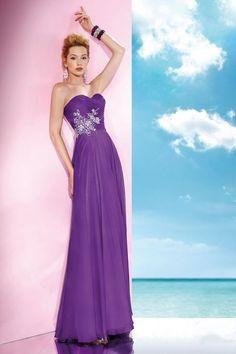 purple prom dress, #long