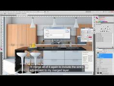 Post Production technique for Architectural Renderings - YouTube