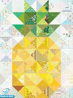 The Pine Apple - custom Ready-to-Quilt design created by deannalcole using PatternJam quilt design software