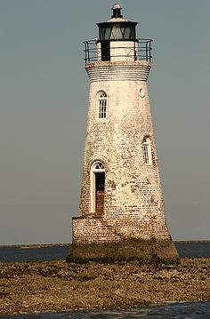 Cockspur Lighthouse, Georgia, US