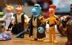 I LOVE COMBINATIONS OF MY FAVORITE THINGS. #muppets #starwars