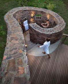 Refreshing Outdoor Shower Design Ideas - The Architecture Designs