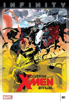 Wolverine and the X-Men Annual #1  The Avengers find an unlikely ally against the forces of the Builders--Kid Gladiator! What has the prince of the Shi'Ar Empire been up to since he left the Jean Grey School?