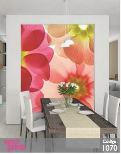 papeles murales, dale color a tus espacios