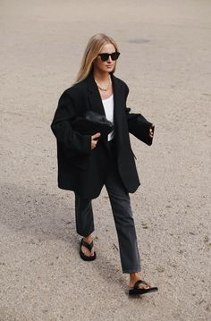 Best Street Style, Street Style Outfits, Mode Outfits, Fashion Outfits, Outfits Inspiration, Looks Style, My Style, Blazer Outfits Casual, Look Blazer