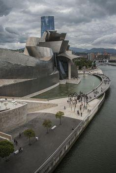 Musée Guggenheim Bilbao - Espagne