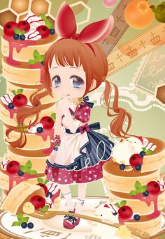 とろけるバターとメープルシロップをあわせて…ガチャ@セルフィ「Love Love Pancakes♡」登場!