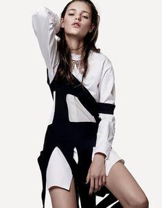Inga Dezhina by Jason Kibbler for Vogue Russia September 2015 - Dior