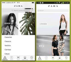 Zara para levar na carteira - High-Tech Girl  Zara App