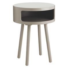 The fun and functional Bumble grey side table with shelf combines practical storage with characterful good looks. Buy now at Habitat UK. Small Glass Side Table, Grey Side Table, Side Table With Storage, Big Bedrooms, Flat Ideas, Uk Homes, Low Tables, Storage Shelves, Shelf