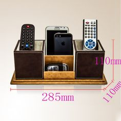34.41$  Watch now - http://ai1gy.worlditems.win/all/product.php?id=32738788945 - Hot Sale PU Leather Pen Holder Case Multifunction Handmade Steady Office Desk Storage Box Fashion Business Gifts