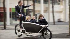 Urban arrow electric assisted bike. Sporting huge cargo baskets in front of riders, the Dutch cargo bikes known as Bakfiets are ridiculously cute and rather useful for hauling things. They are particularly useful for carting around a family, though, in spite of the uncomfortable nature of most cargo baskets. The designers of the above bike, known as the Urban Arrow, saw a gap in the market there and created a comfortable family-friendly cargo bike.
