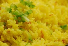 I love Patti's Mexican Table.  She has authentic recipes and this Yellow Rice is easy. I didn't use the saffron, but bought a bag of yellow rice at the store that has all the nuances already added.  Made the recipe as directed.  SO FLAVORFUL!!  This rounds out our meal for the day....love having time to cook....