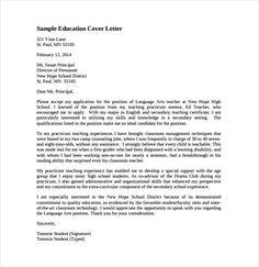Cover Letter Template Header | 1-Cover Letter Template | Sample ...