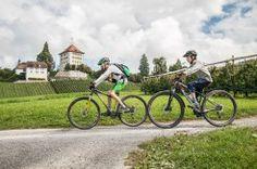 Am Schloss Heidegg vorbei auf unserer Biketour. #Baldeggersee #Herschlaufe Tours, Nature, Travel