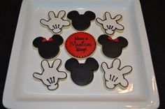 Mickey & Minnie Mouse Disney Cookies