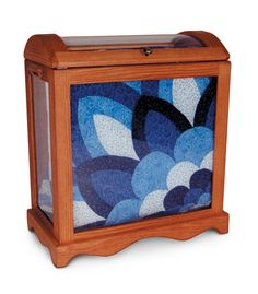 Medium Quilt Display Case from Simply Amish furniture