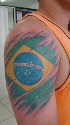 brazilian tattoos designs bandeira do brasil tattoo olho com cores da cool pinterest. Black Bedroom Furniture Sets. Home Design Ideas