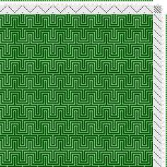 draft image: Figurierte Muster Pl. XXXI Nr. 8, Die färbige Gewebemusterung, Franz Donat, 7S, 7T