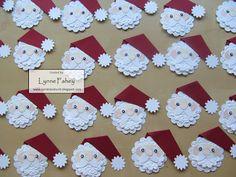 Stampin Up Demonstrator - Lynne Fahey (Spiralz und Curlz): Der Weihnachtsmann (Santa) swap - Tutorial