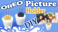 Learn how to make this mini oreo picture holder! This is an EASY diy that is also very quick to make if you have the quick-cure resin. Oreo Milk, Clay Tutorials, Free Tutorials, Craft Websites, Mini Oreo, Nerd Crafts, Resin Tutorial, Picture Holders, Resin Crafts