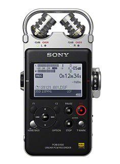 SONY PCM D-100 - a modern day Walkman for professional recording (Tech Design Art)