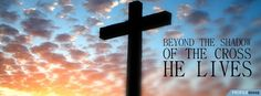 Easter Cross Pictures - Cross Photos in Sunset - Facebook Cover Download