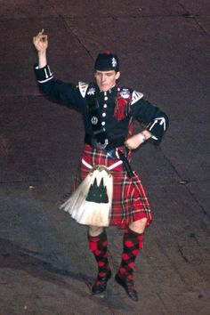 Black Watch Highland Fling Dancer