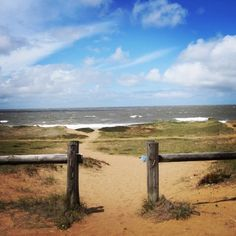 I love this gateway to Mansa beach near Punta del Este, Uruguay. The sky was perfect, but the sea was angry that day, my friends. That is how the ocean looks when storms churn up sediment flowing into the sea from the Río de la Plata.