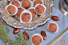 trufe raw festive3 Raw Vegan, Muffin, Breakfast, Desserts, Food, Sweets, Morning Coffee, Tailgate Desserts, Deserts