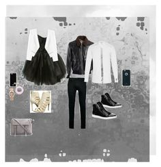 """""""the dance"""" by ericka-lira ❤ liked on Polyvore featuring Brunello Cucinelli, Loyd/Ford, Rebecca Taylor, Jessica Simpson, WeWood, Givenchy, Topman, Forever 21, Yves Saint Laurent and Calvin Klein"""