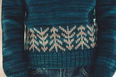 Ravelry: Lodgepole Pullover pattern by Sara Gresbach
