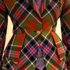 Vivenne Westwood collection #tartan #afrotartan #followthetartan