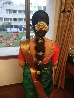 20 Ideas for wedding hairstyles medium length braid bridal hair brides South Indian Wedding Hairstyles, Bridal Hairstyle Indian Wedding, Bridal Hairdo, Hairdo Wedding, Wedding Guest Hairstyles, Indian Hairstyles, Saree Hairstyles, Bride Hairstyles, Trendy Hairstyles