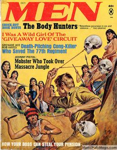 MEN magazine, Oct. 1967. Cover by Earl Norem by SubtropicBob, via Flickr