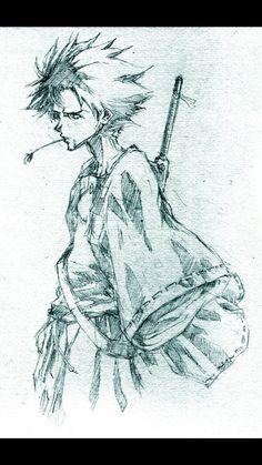 Mugen...from samurai champloo