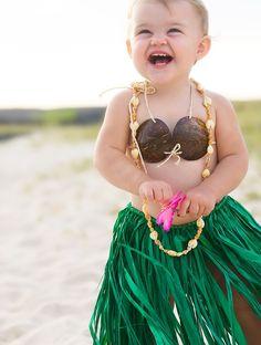 baby hula girl