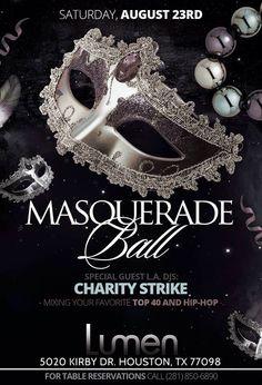 Masquerade Ball Flyer Poster Template | Flyers, Masquerade ball ...