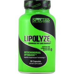 Species Lipolyze 90 ct | Regular Price: $54.99, Sale Price: TOO LOW TO SHOW! | OvernightSupplements.com | #onSale #supplements #specials #Species #WeightLoss  | Lipolyze Advanced Fat Loss Formula Caffeine Free Stimulant Free Gluten Free Mitochondrial Optimizer Appetite Suppressant Technology Lipolyze contains natural uncoupling agents These non stimulant based compounds help the body burn calories without raising heart rate without elevating blood pressure and without causing