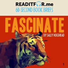 Today's Book Brief: Fascinate. Want the version? Get a free www.me account. Thing 1 Thing 2, This Book, Books, Free, Livros, Book, Libri