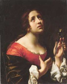 St. Apollonia - Deaconess and martyr