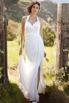 #Summer #wedding #dress from David's #Bridal.