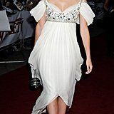 In 2008, Emma wore an Alexander McQueen white dress to the National Movie Awards.