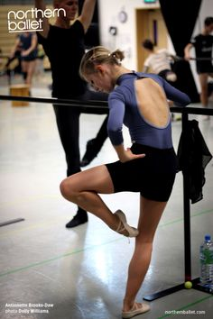 Northern Ballet dancer Antoinette Brooks-Daw. Photo Dolly Williams