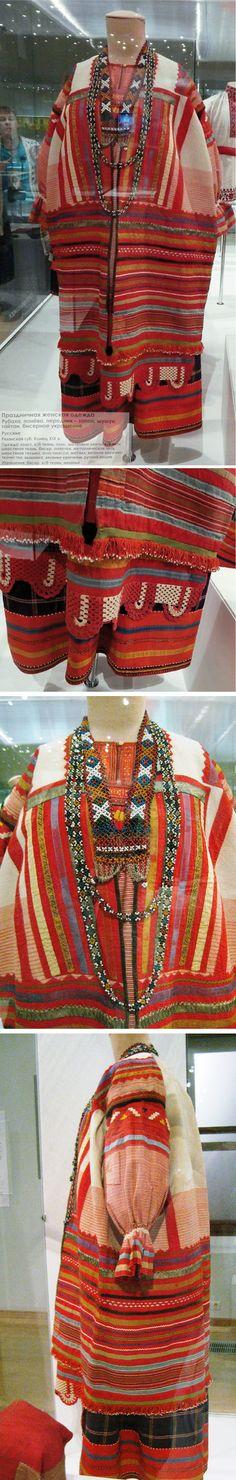 ГИМ. Праздничный костюм Рязанской губ. https://vk.com/photo223847272_432942618