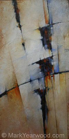 Sonata by Mark Yearwood Acrylic ~ 48'' x 24''