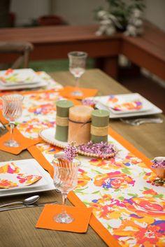 Perfect for Spring! #atelier #Runner #cocktail #napkins #Blumen #shantung #mandarin #yuma #burlap #home #decor #homedecor