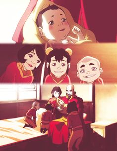 """Welcome! I'm Ikki,and this is Jinora and Meelo. We have a super great family, and we're so happy that you're a part of it!"""