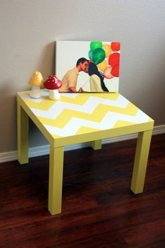 I could do this with the Ikea Table I have.